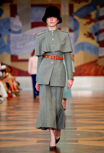 Фото №10 - Единороги в СССР: Ulyana Sergeenko Couture FW18