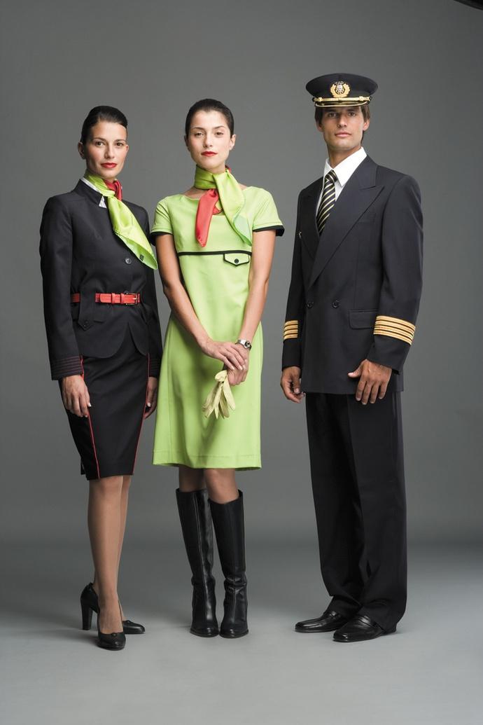 форма стюардессы фото TAP Air Portugal