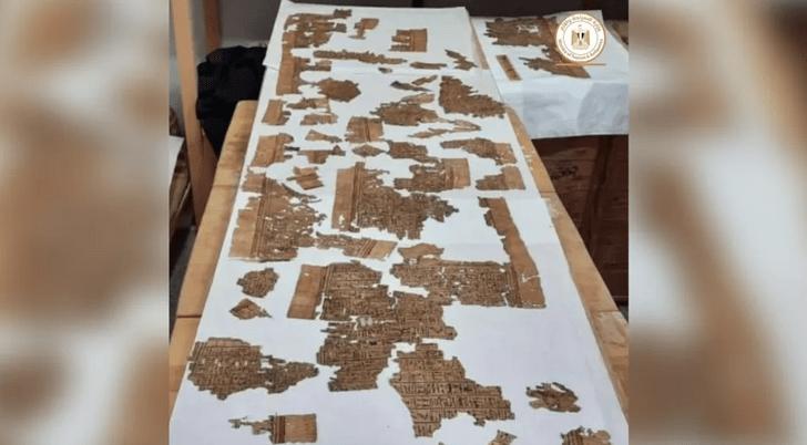 Фото №1 - В Египте обнаружен 4-метровый свиток «Книги мертвых»