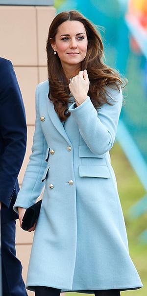 Фото №11 - В модном положении: две беременности герцогини Кембриджской (сравним?)
