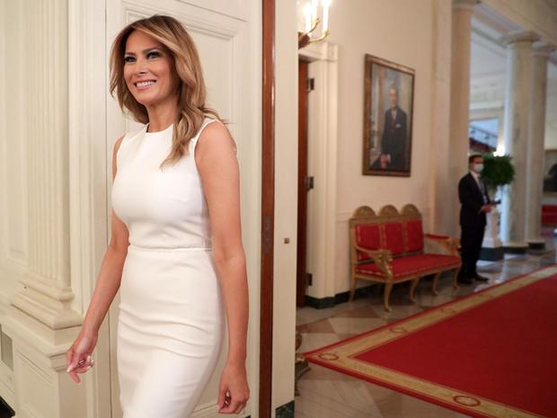 Фото №2 - Последнее слово Первой леди: о чем Мелания Трамп говорила в прощальном обращении к нации