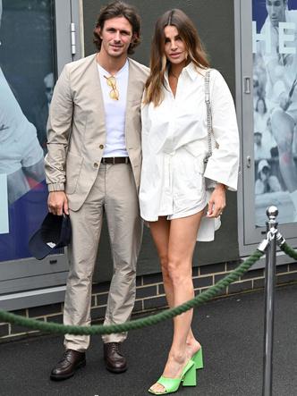 Фото №16 - Бекхэм с девушкой, кузен Королевы и другие знаменитости на открытии Уимблдона 2021