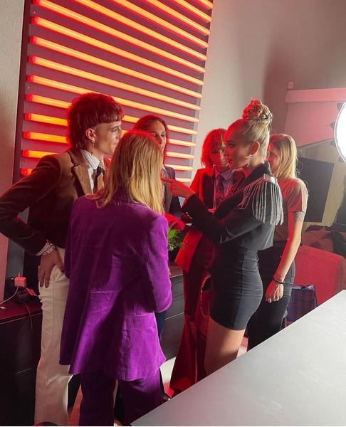 Ольга Бузова и группа Måneskin