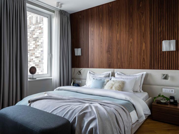 Фото №9 - Московская квартира 100 м² в пастельных тонах