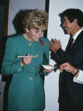 Диана в Сеуле, 4 ноября 1992