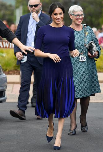 Фото №219 - Все наряды первого зарубежного тура Меган Маркл в Австралию и Новую Зеландию