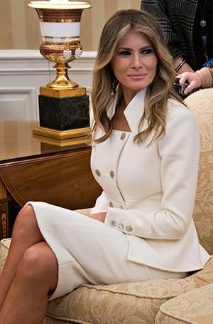 Фото №21 - Мелания Трамп: новые стандарты стиля Первой леди