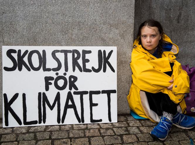 Фото №2 - Грета Тунберг: инструмент политической пропаганды или школьница, которая спасет мир?