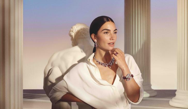 Фото №1 - Прекрасные музы Лиза Олдридж, Виттория Черетти, Зендая и ЛИСА в рекламной кампании Bvlgari Magnifica