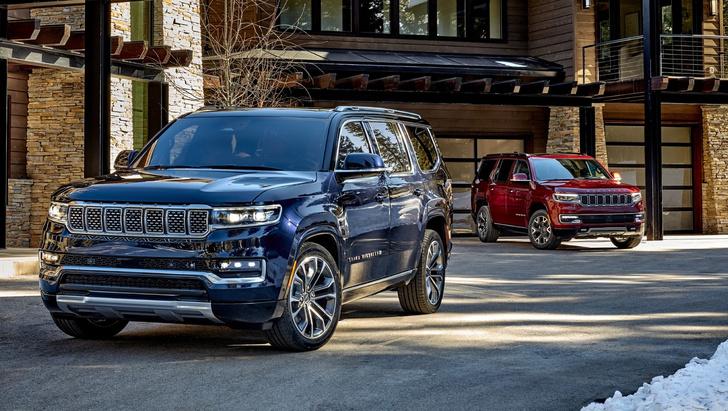 Фото №1 - Возвращение короля— Jeep представил огромный роскошный внедорожник