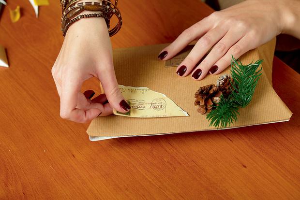 Фото №15 - Мастер-класс: Делаем открытку и упаковываем подарок