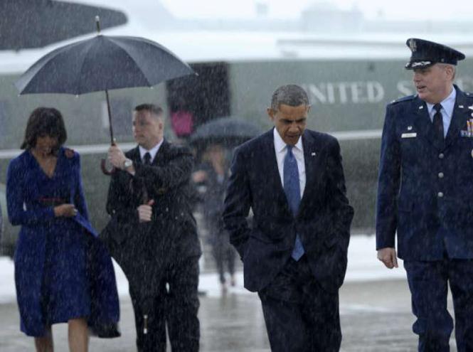 Фото №4 - Зонтик для нарцисса: Дональд Трамп не думает даже о своей семье