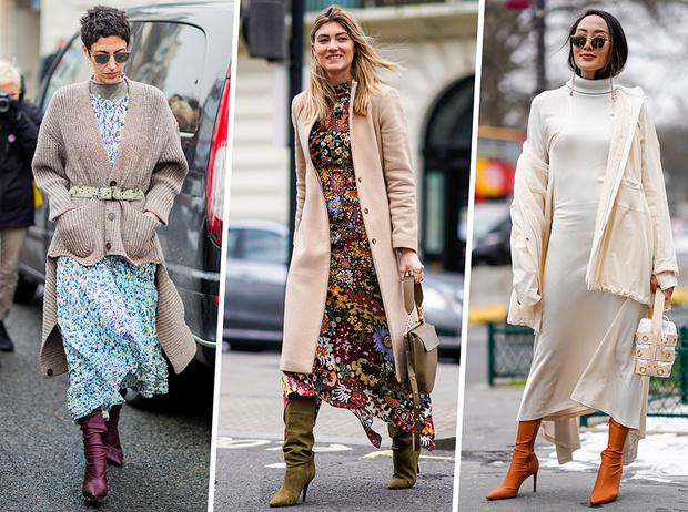 Фото №1 - Полный гид по самым модным платьям для холодного сезона 2018-19