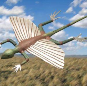 Фото №1 - Полет древних рептилий