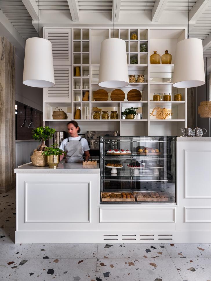 Фото №10 - Уютное кафе в средиземноморском стиле в Москве