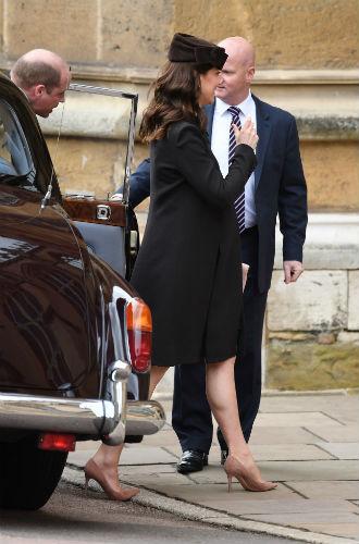 Фото №4 - Никому не верь: герцогиня Кембриджская вышла из декрета (но всего на день)