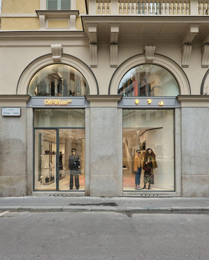 Фото №9 - Первый бутик Off-White в Милане