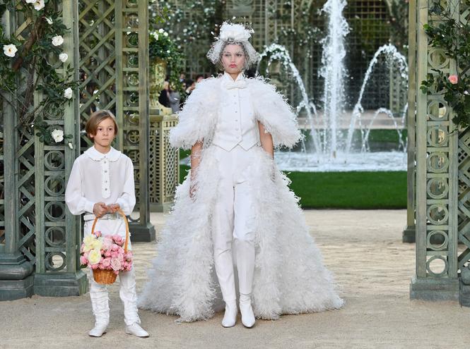 Фото №8 - Цветущий сад Карла: Chanel Haute Couture SS18