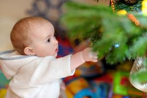 Фото №1 - Готовимся к новому году с малышом