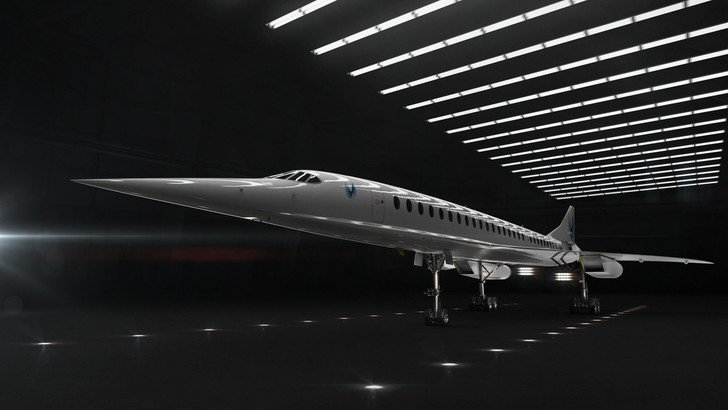 Фото №1 - Первый после «Конкорда» пассажирский сверхзвуковой самолет готовится к полету