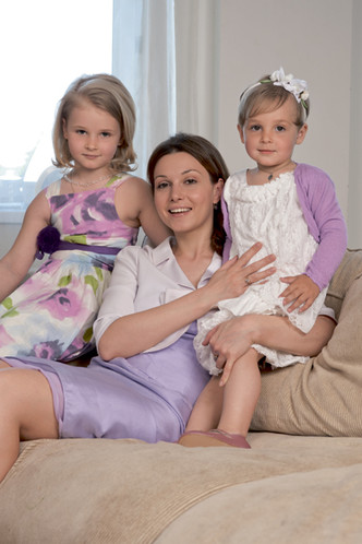 Фото №3 - Александра Урсуляк, Аня и Настя: Дважды мама