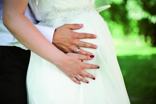 Фото №2 - Свадьба в положении: важные моменты