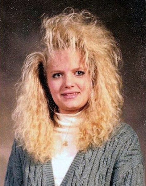 Фото №3 - Взрыв из прошлого: если в моду вернутся прически из 80-х…