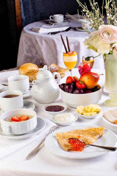 Фото №1 - Завтрак аристократов: утреннее меню «Метрополя»