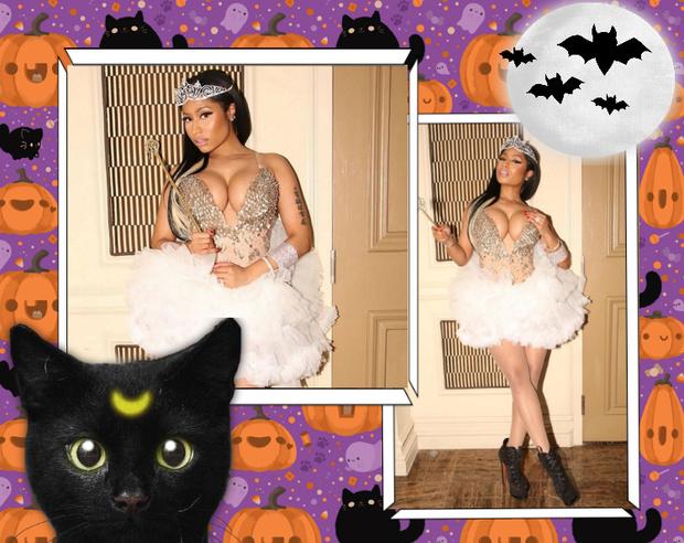 Фото №7 - Лучшие костюмы звезд с прошедшего Хэллоуина