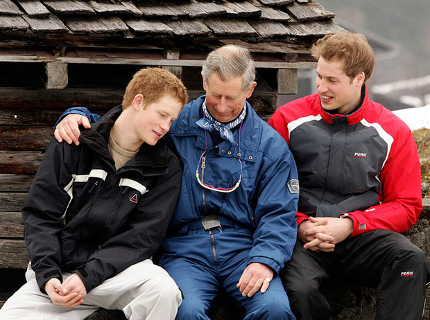 Фото №4 - Самые милые фотографии королевских отцов с детьми