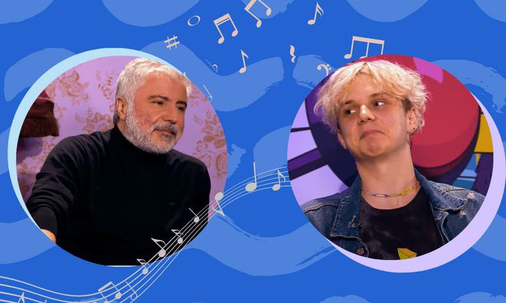 Фото №1 - Песни и привет маме: Ваня Дмитриенко и Сосо Павлиашвили кайфуют в шоу «Музыкалити» 🎶