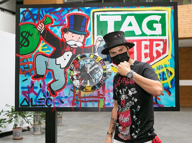 Фото №1 - Граффити-художник Алекс Монополи: «Иногда я получаю сумасшедшие заказы»