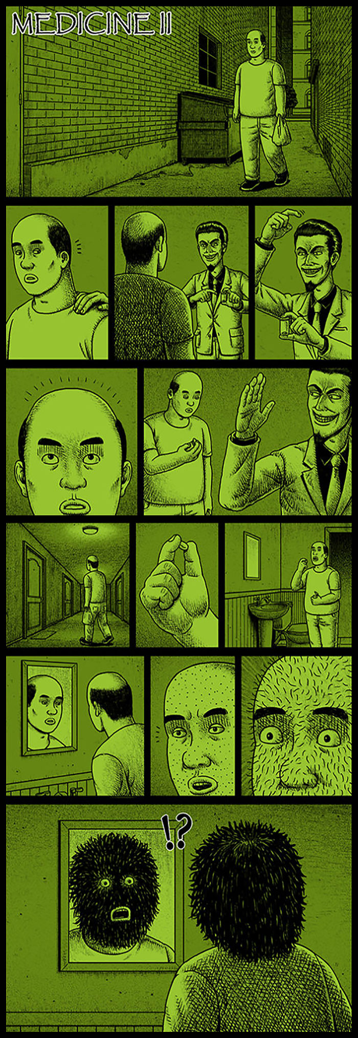 Фото №24 - 30 комиксов с отборным черным юмором от Бена Чена