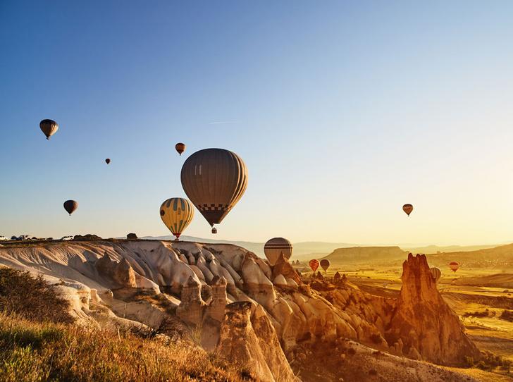 Фото №5 - Шесть лучших мест для полетов на воздушном шаре