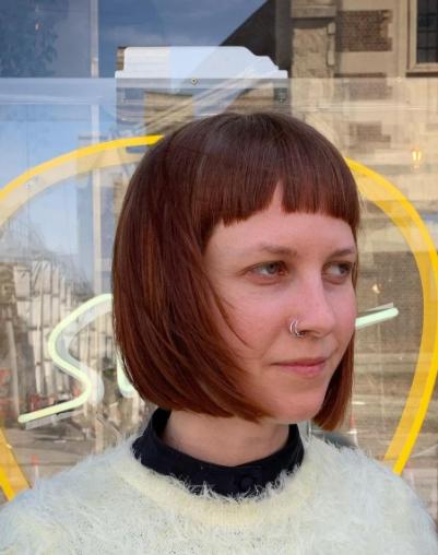 Фото №6 - Paper-cut: самый модный способ носить стрижку боб летом 2021