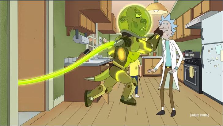 Фото №1 - Впервые! Трейлер пятого сезона «Рик и Морти»