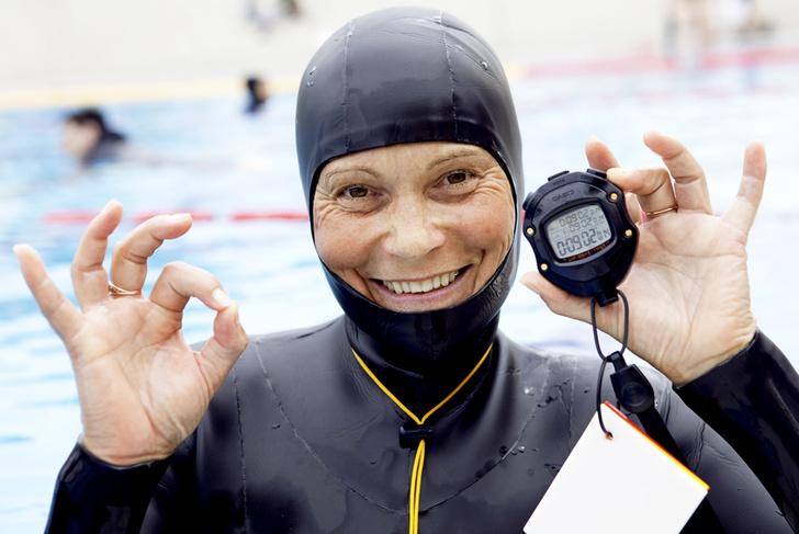 Фото №1 - Сверхчеловек: свободное плавание