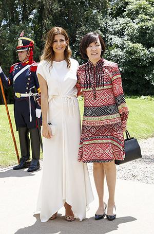 Фото №5 - G20 в Аргентине: самые яркие модные выходы Первых леди