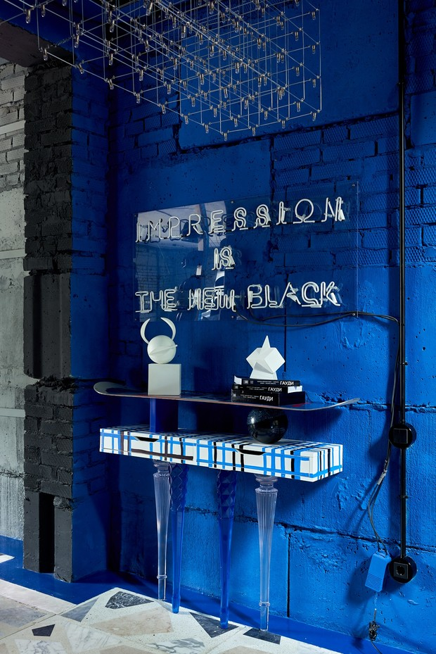Фото №9 - Электрический ультрамарин: загородный дом для ценителя искусства