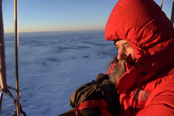 Фото №1 - Федор Конюхов отправился в кругосветное путешествие на воздушном шаре