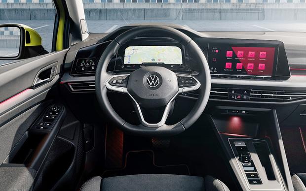 Фото №3 - VW Golf: цифровой аппарат