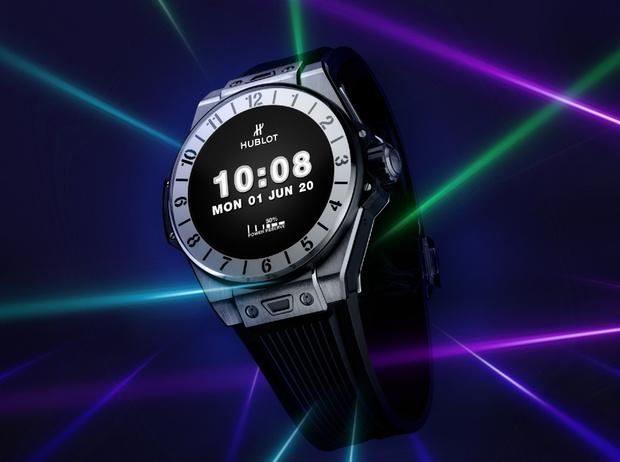 Фото №1 - Смарт-технологии: Hublot показали новые умные часы Big Bang