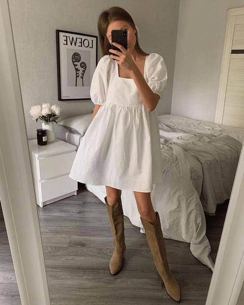 Фото №1 - 10 самых красивых белых платьев для этой весны 🤍🕊