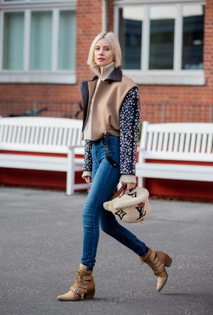 Фото №9 - С чем носить джинсы скинни сегодня: модные советы и удачные сочетания