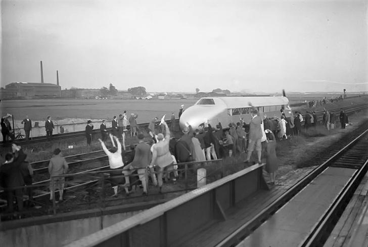 Фото №4 - История одной фотографии: «Рельсовый Цеппелин», июнь 1931