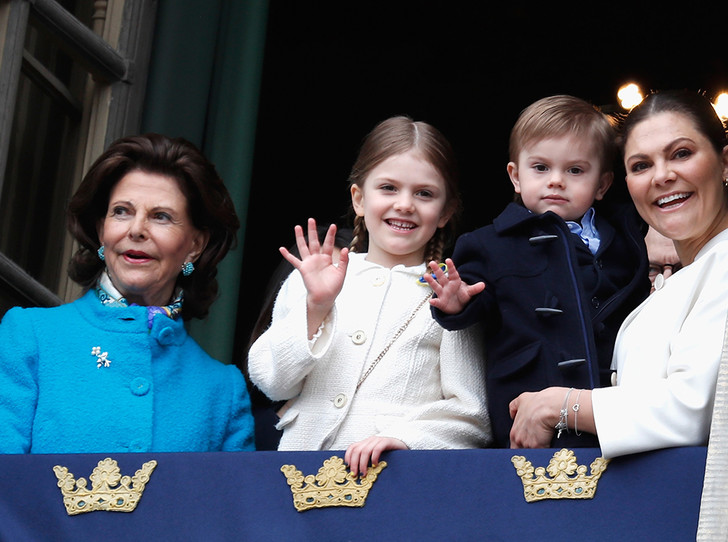 Фото №3 - Юная принцесса Эстель затмила короля Швеции