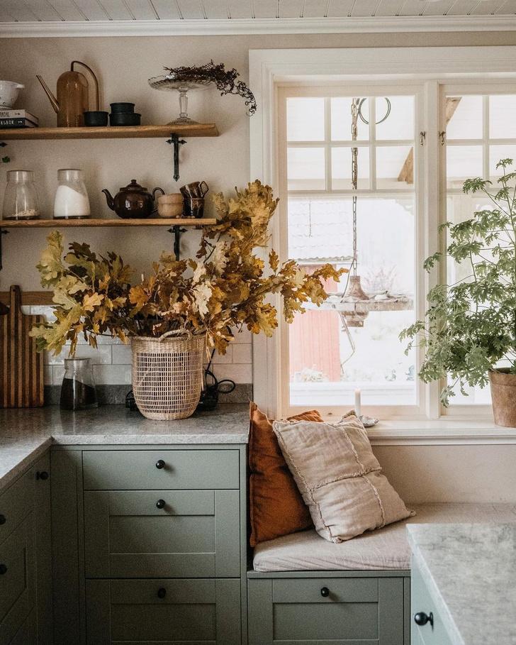 Фото №7 - Осеннее настроение в доме: примеры из реальных интерьеров