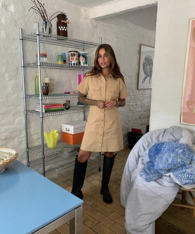 Фото №7 - С чем носить резиновые сапоги: показывают шведские и датские блогеры