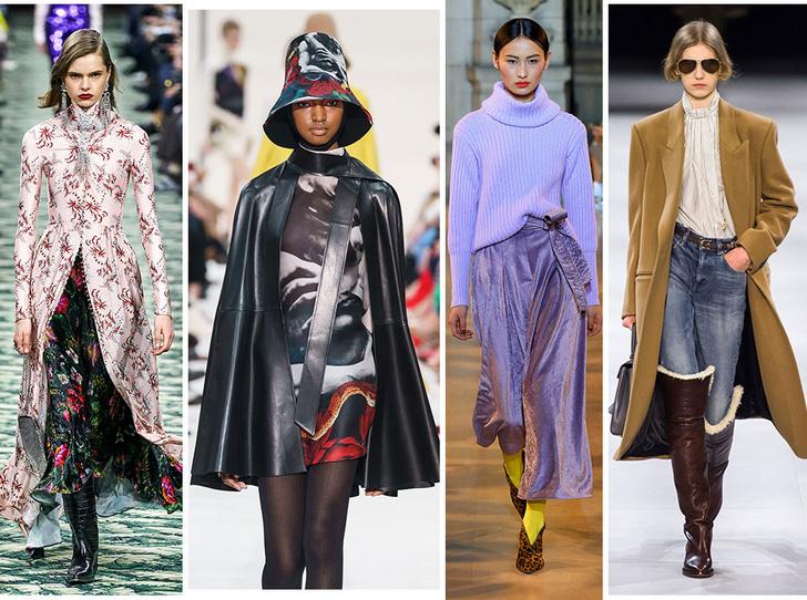 Фото №1 - 10 трендов осени и зимы 2019/20 с Недели моды в Париже
