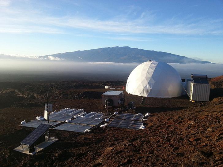 Фото №1 - Завершился эксперимент по имитации жизни на Марсе